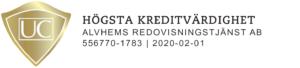 Hogsta kreditvardighet logotyp